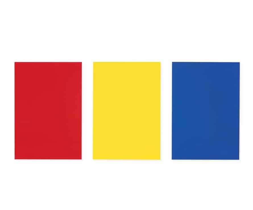Ellsworth Kelly: Red Yellow Blue II, 1965.