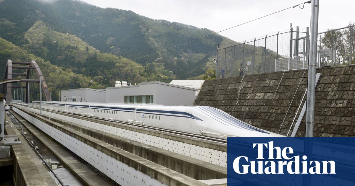 Could maglev trains be a magic bullet for UK inter-city travel