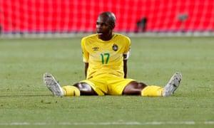 Knowledge Musona missed two golden opportunities as Zimbabwe drew with Uganda.