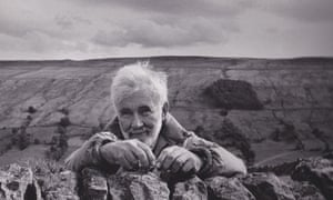 Derek Hyatt at his home near Bishopdale, North Yorkshire.