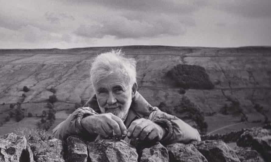 Derek Hyatt at his home near Bishopdale, North Yorkshire.