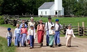 Good old times: the Acadian historic village of Caraquet in New Brunswick, Canada.