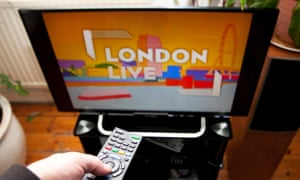London Live on a TV