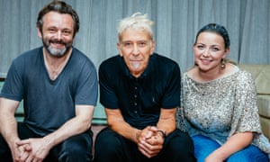 John Cale at Festival of Voice with Michael Sheen and Charlotte Church