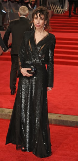 """Star of The Shape of Water Sally Hawkins arrives on the red carpet. When asked if she has thought about winning, she told red-carpet host Edith Bowman, """"No, I don't... it's a bonus. All this is lovely, but it's only a bonus."""""""