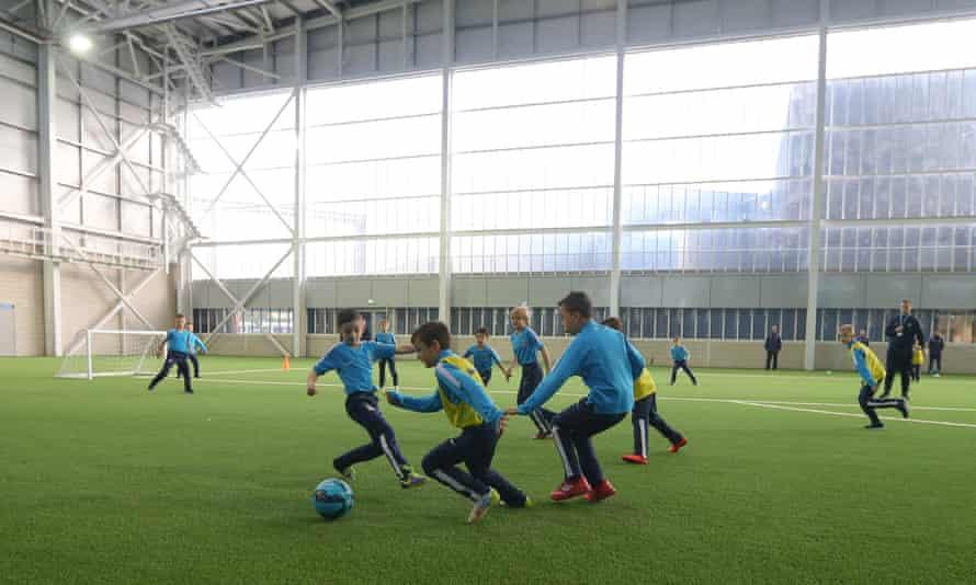 Manchester City's Etihad Campus
