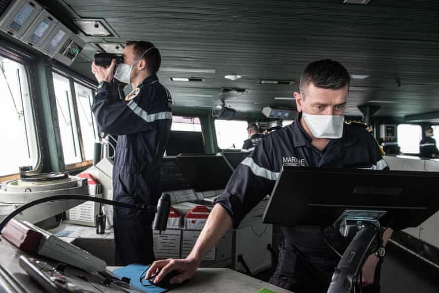 Fifty crew were confirmed to have the virus on France's Charles de Gaulle aircraft carrier.