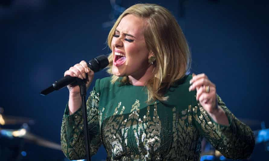 Adele at the BBC, which has earned the singer her first Bafta nomination.