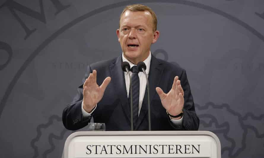 Danish prime minister Lars Løkke Rasmussen