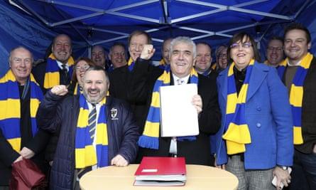 AFC Wimbledon secure stadium planning permission at Merton Civic Centre, Morden.