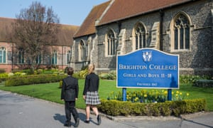 """Brighton College has scrapped its traditional uniform to accommodate """"gender dysphoric"""" pupils."""