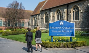 Brighton College has axed its 170-year-old uniform code.