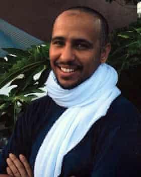 Former Guantánamo detainee Mohamedou Ould Slahi.