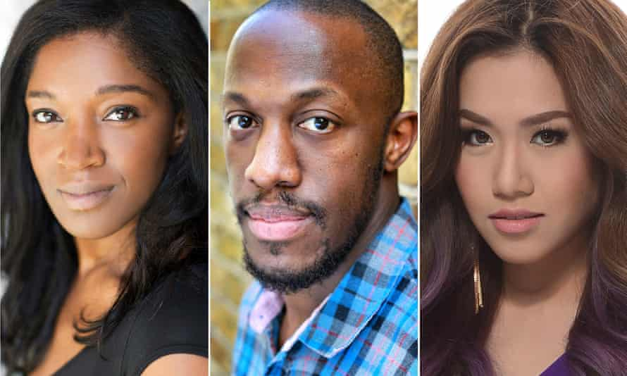 London lineup … Rachel John, Giles Terera and Rachelle Ann Go.