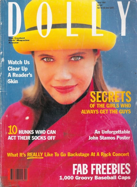 Dolly magazine cover from 1991