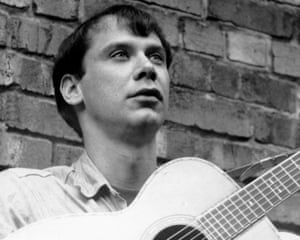 Guitarist John Fahey in 1970. 'He merged the dark voodoo of the Delta blues with his own off-kilter sense of American self, nature and space,' writes Penman