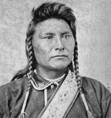 Chief Joseph, a leader in the Nez Perce War of 1877.