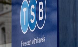 A TSB branch in Ashford, Kent.