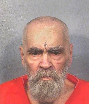 Manson in a 2017 California department of corrections photo.