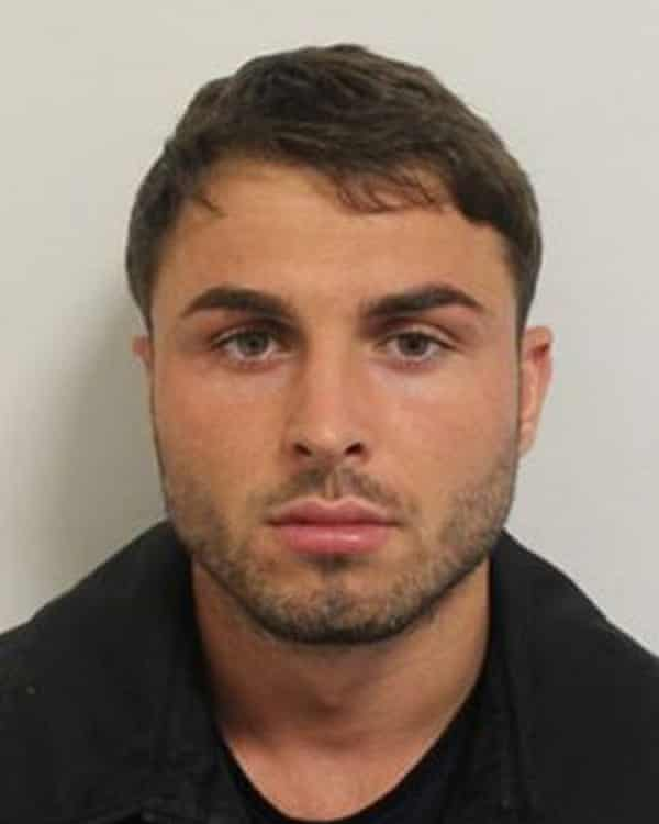 Arthur Collins, 25, is being sought over the incident.