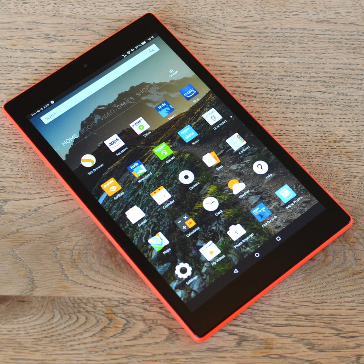 Amazon Fire HD 40 review affordable tablet that's great for ...