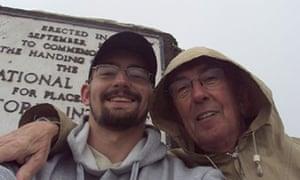 Benjamin Field (l) with Peter Farquhar