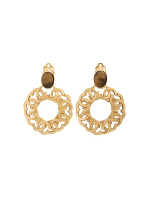 Vintage earrings, £772, by Chanel (farfetch.com)