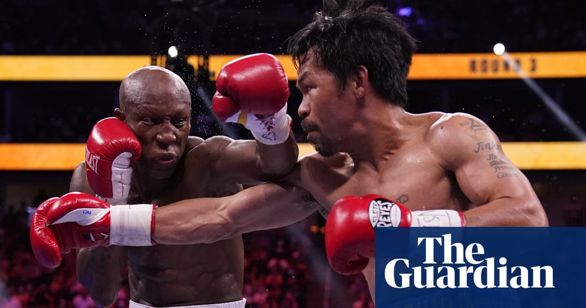 Manny Pacquiao faces career crossroads after points defeat to Yordenis Ugás