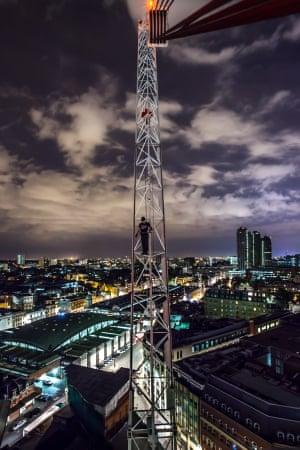 Construction Crane, City of London