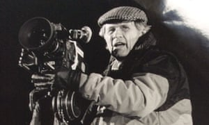 Peter Duffell filming in 1987