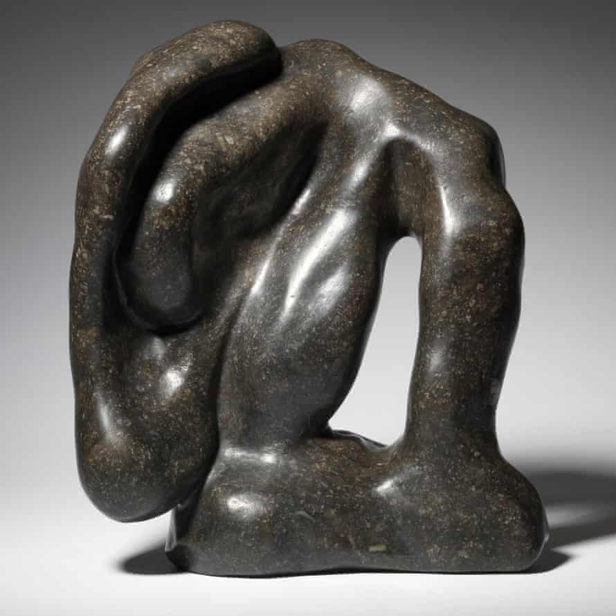Hommage à Rodin, 1938, by Jean Arp.