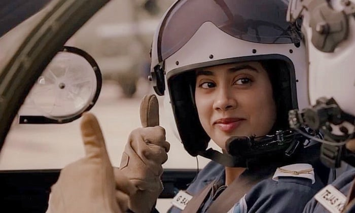 Gunjan Saxena The Kargil Girl Review Janhvi Kapoor Excels As An Indian Air Force Pioneer Drama Films The Guardian