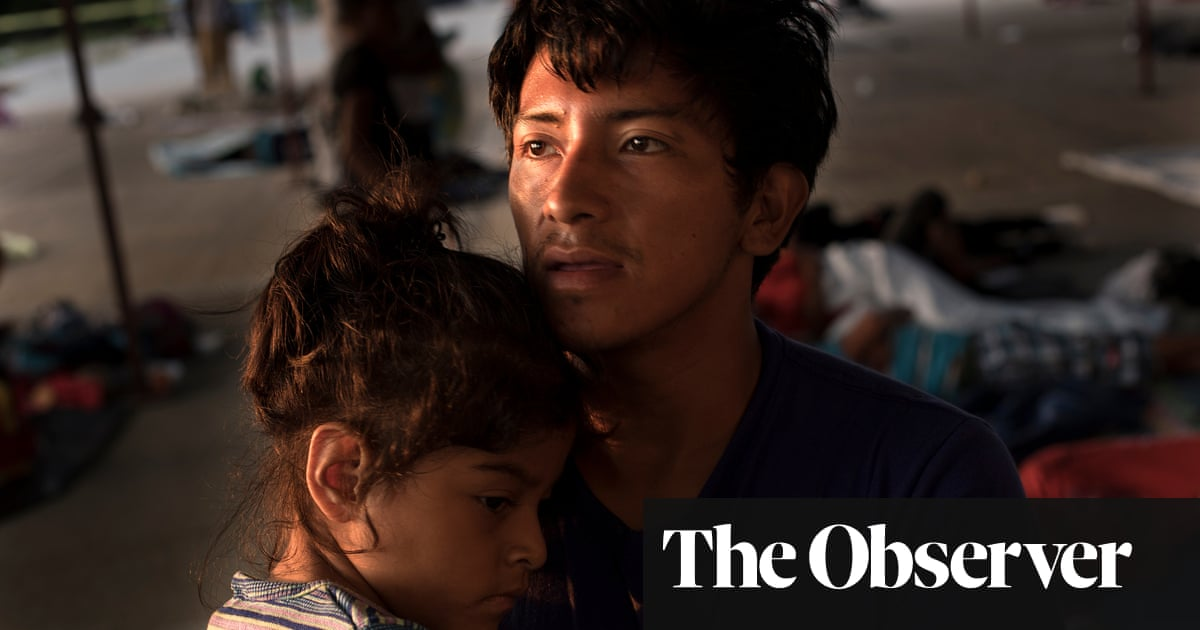 This is what Trump's caravan 'invasion' really looks like | US news