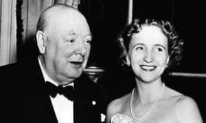 Margaret Truman with William Churchill in 1952