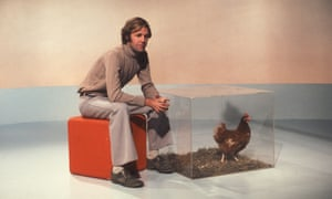 Brian Cant on Play School in 1974.
