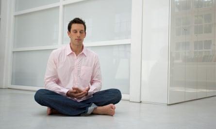 The Zen Buddhist practice of 'mindfulness'