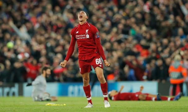 Liverpool stage sensational comeback to beat Barcelona and