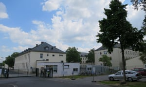 The refugee reception facility in Schweinfurt.