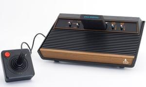 The Atari 2600 console.
