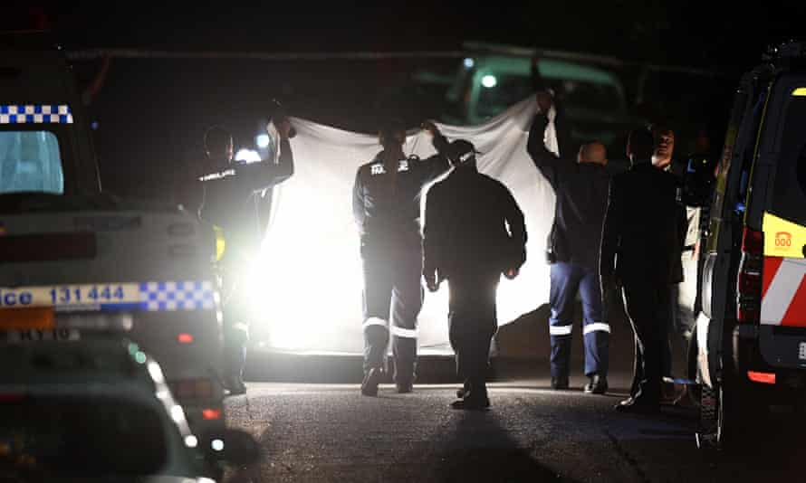 Two teenagers have been shot dead at a home at West Pennant Hills, a suburb in Sydney's north-west