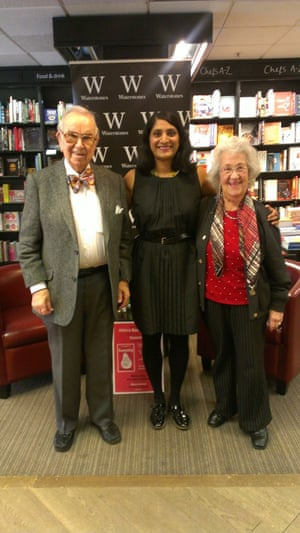 Henry and Ingrid Wuga with Chitra Ramaswamy