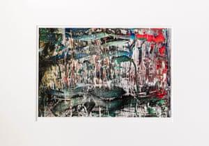 Gerhard Richter, Cut, 2018