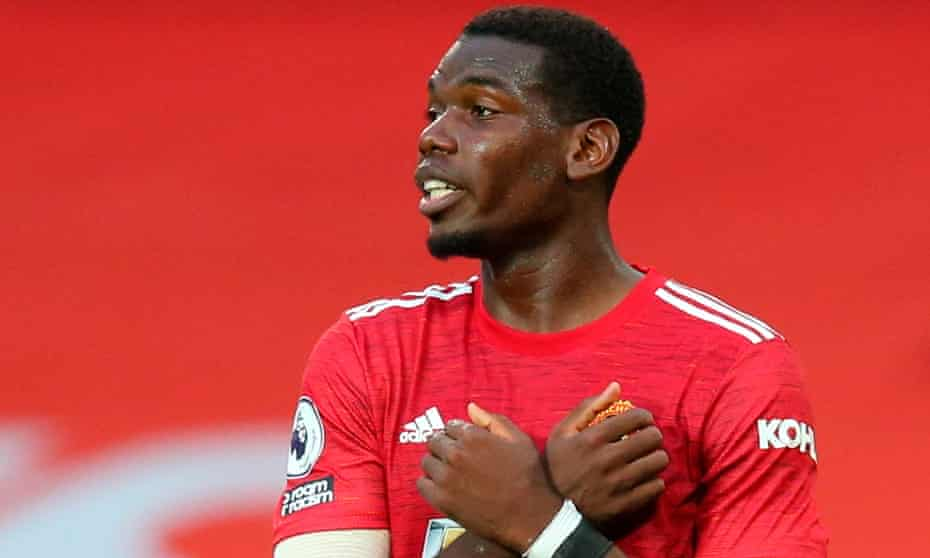 Manchester United's Paul Pogba said: 'Every footballer would love to play for Real Madrid and would dream about that.'