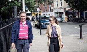 Shane O'Mara with Amy Fleming in Dublin.