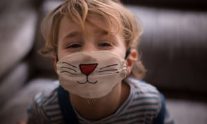 Masks are most effective indoors … although they aren't mandatory for children in many circumstances.