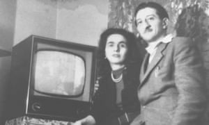 Magda with her husband, László.
