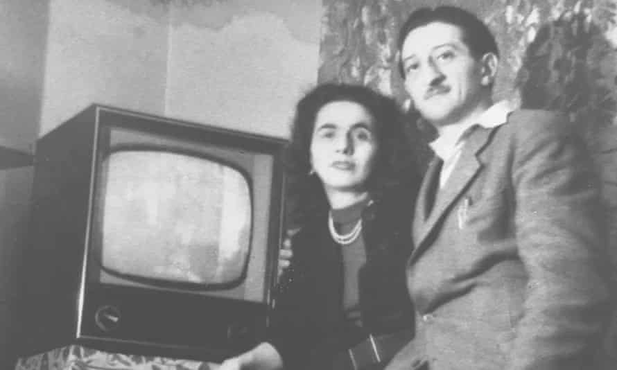 Magda with her husband, László.