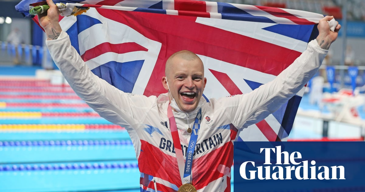 Adam Peaty urges UK after Tokyo gold: 'Now we've got to switch our mindset'