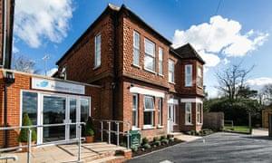 Primrose Lodge treatment centre in Guildford, UK