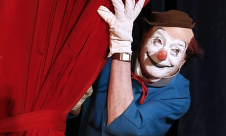 (FILES) This file photo taken on December 03, 2012 shows French clown, comedian and filmmaker Pierre Etaix aka Yoyo posing his clown costume at the Bouglione circus in Chatou. Etaix died on October 14, 2016 morning at the age of 87, according to his family. / AFP PHOTO / FRANCOIS GUILLOTFRANCOIS GUILLOT/AFP/Getty Images